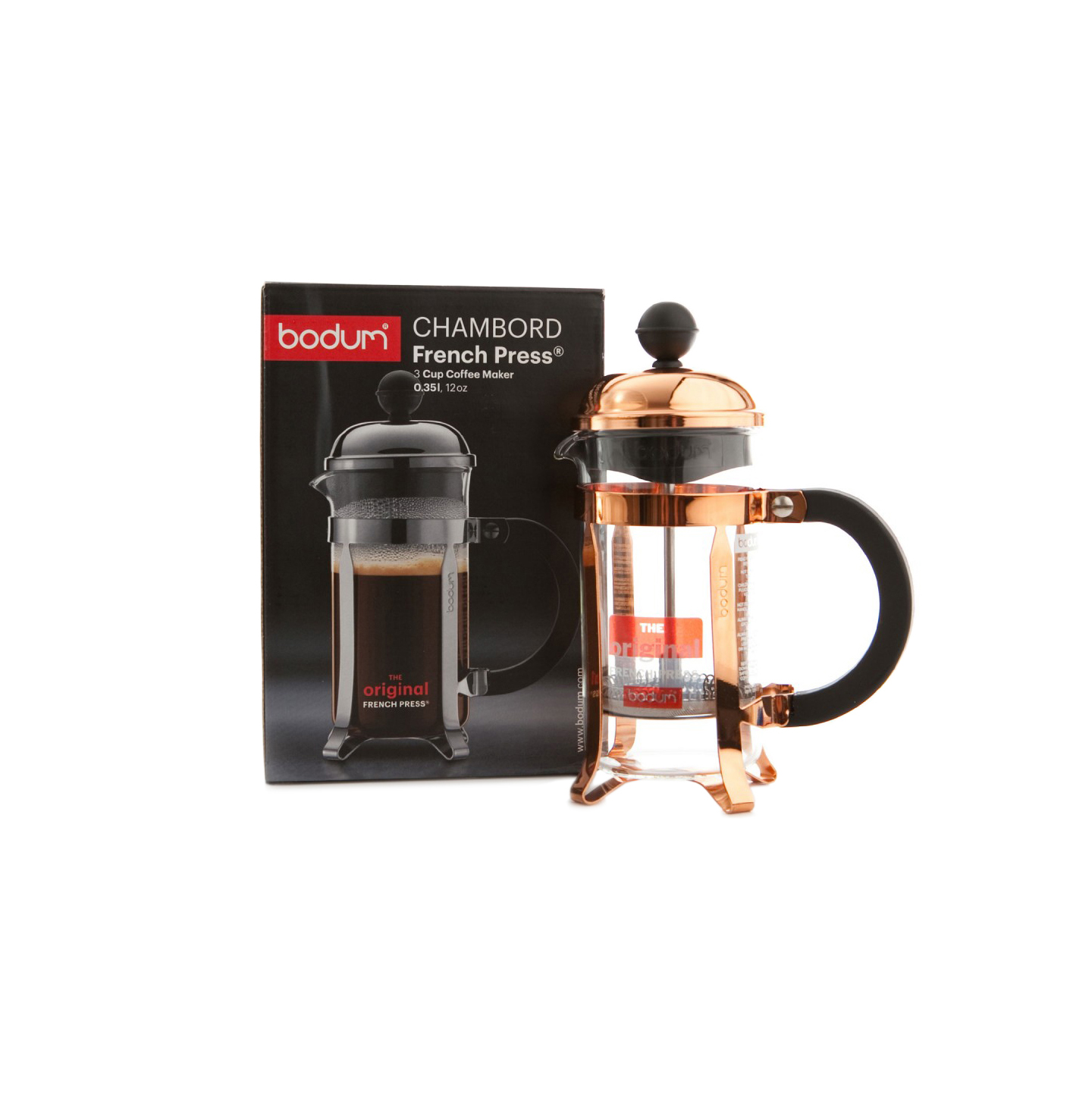 Bodum Chambord Copper Coffee Press