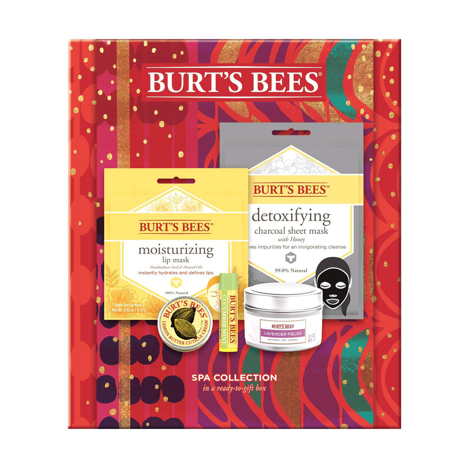 Burt's Bees Spa Collection Holiday Gift Set