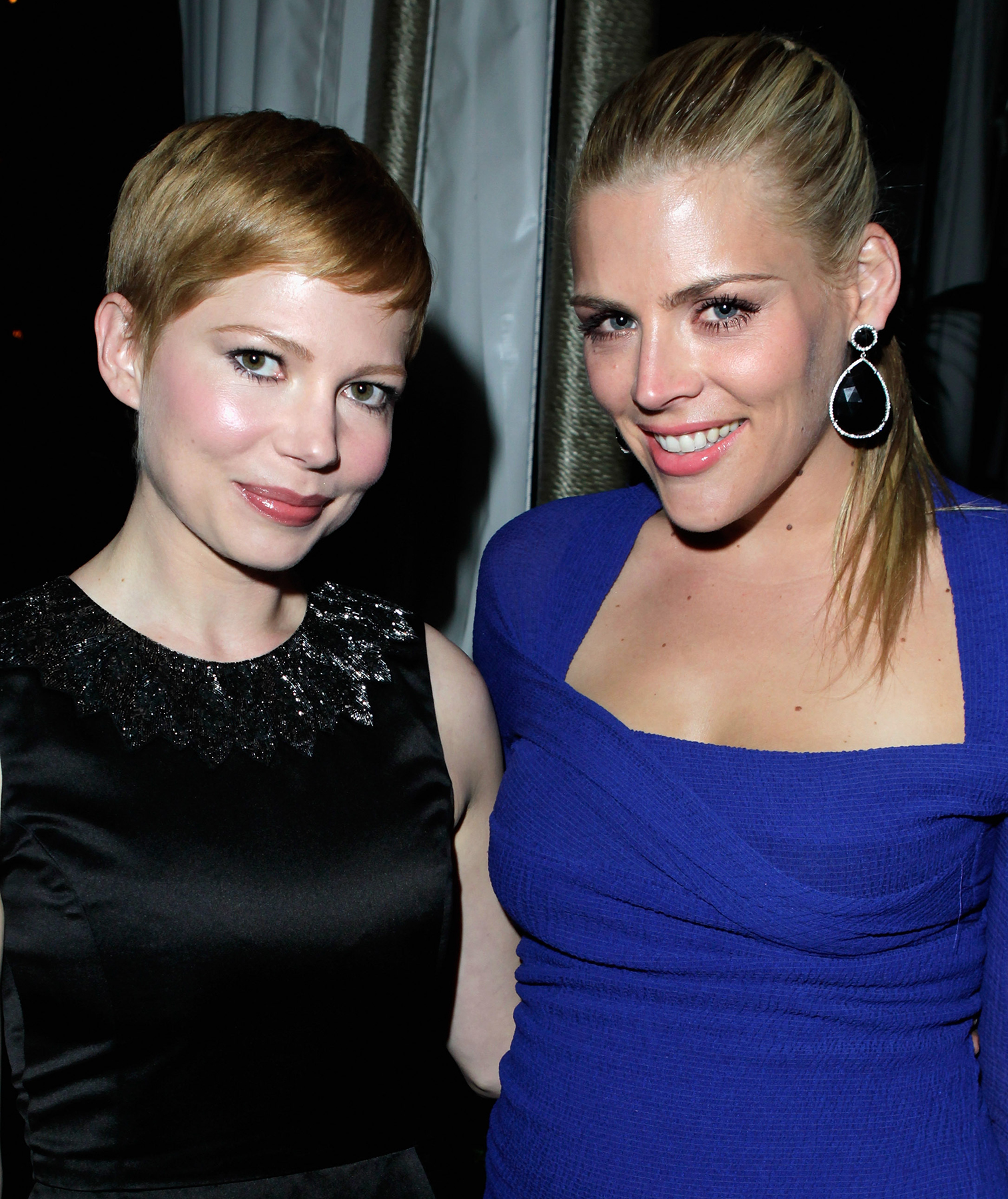 Michelle Williams and Busy Philips