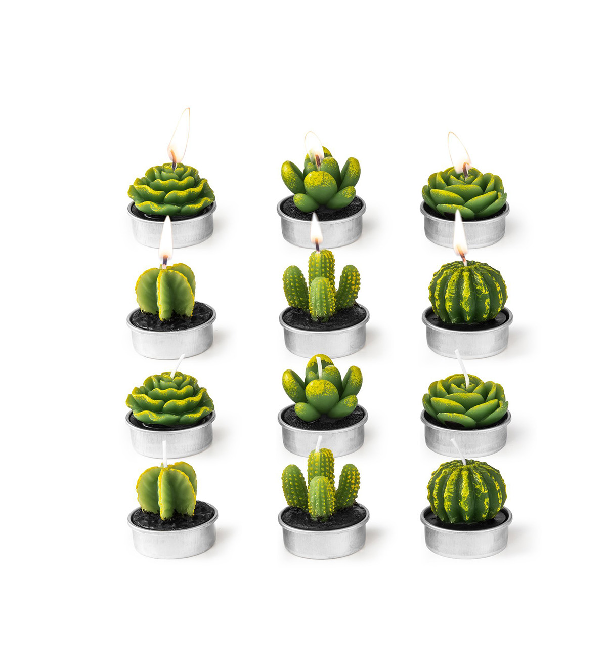 Cactus Candle Wedding Favors