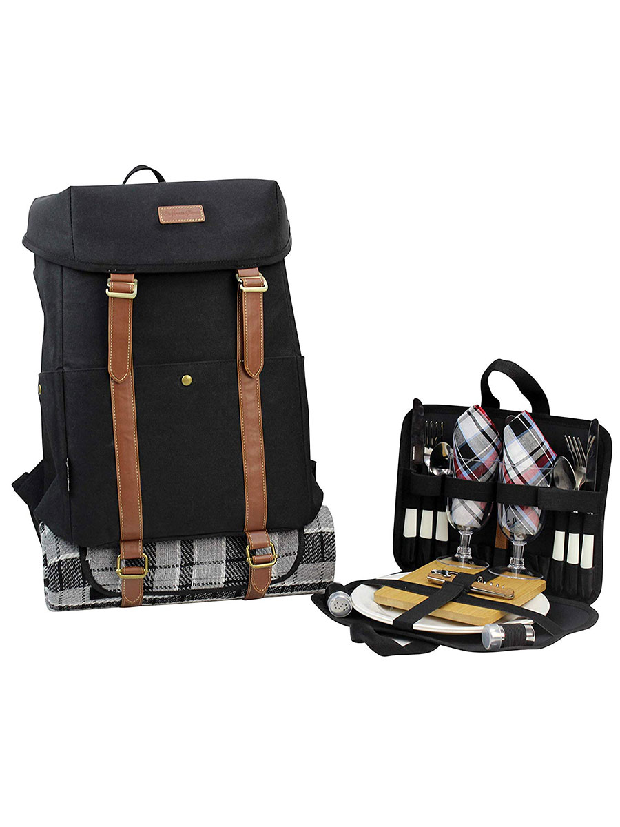 California Picnic Waterproof Backpack for Two