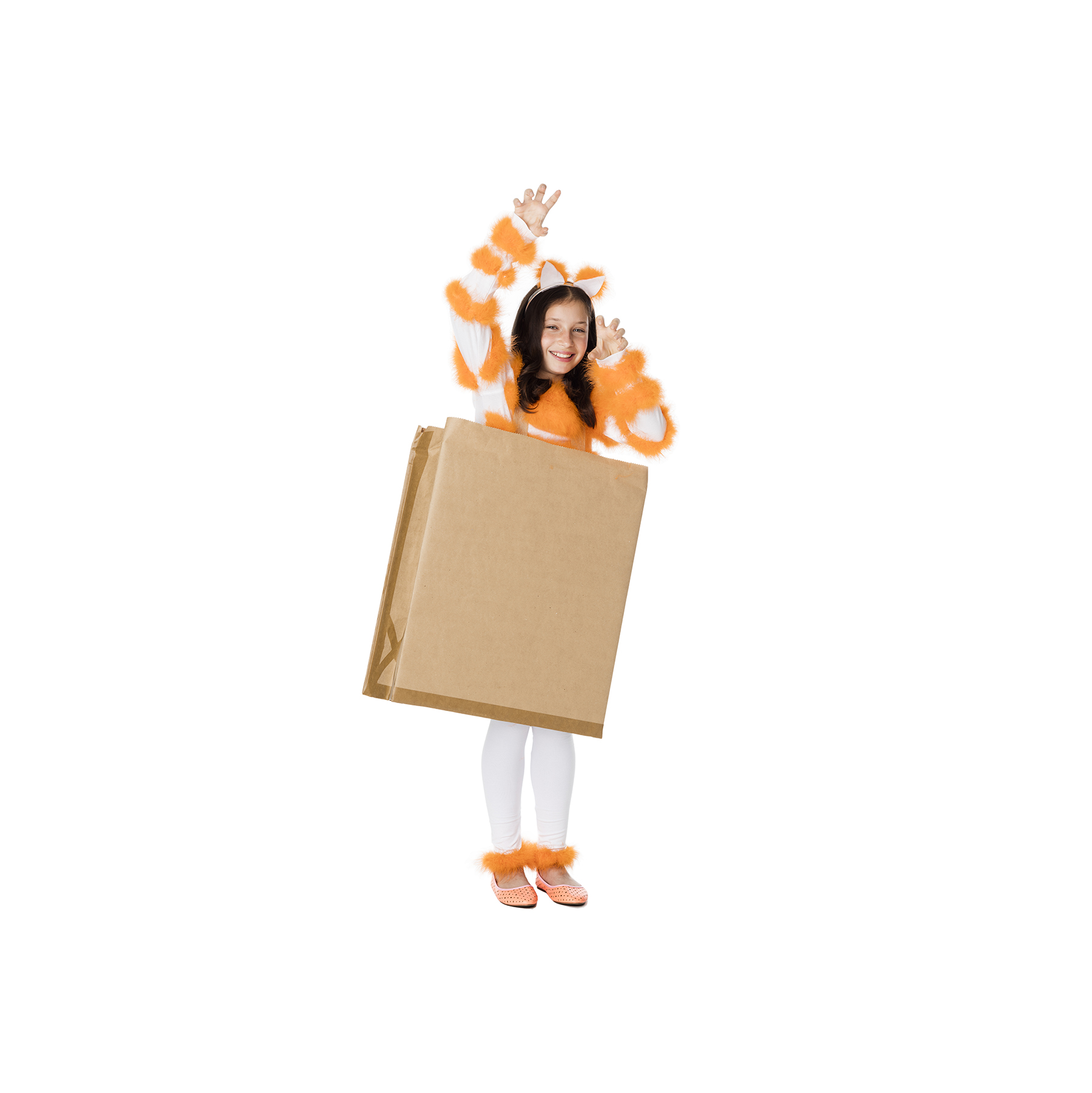 DIY Halloween costumes - Cat Out of the Bag Costume