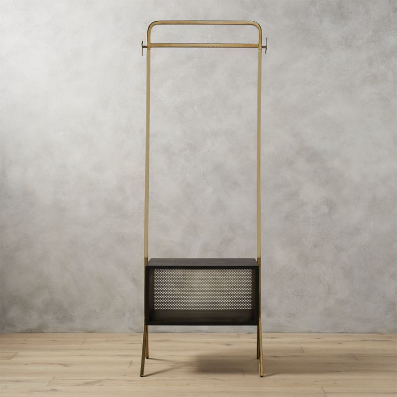 CB2 Valet Clothes Stand to Organize and Decorate Your Home