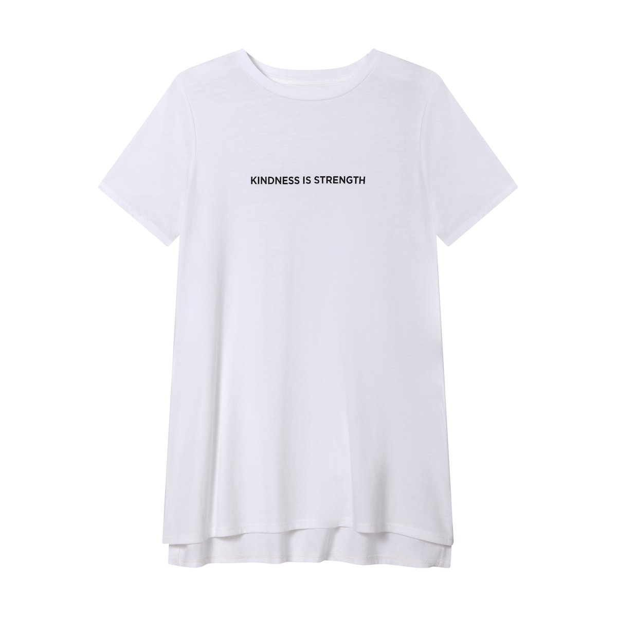 white compassion fund tee for j.jill