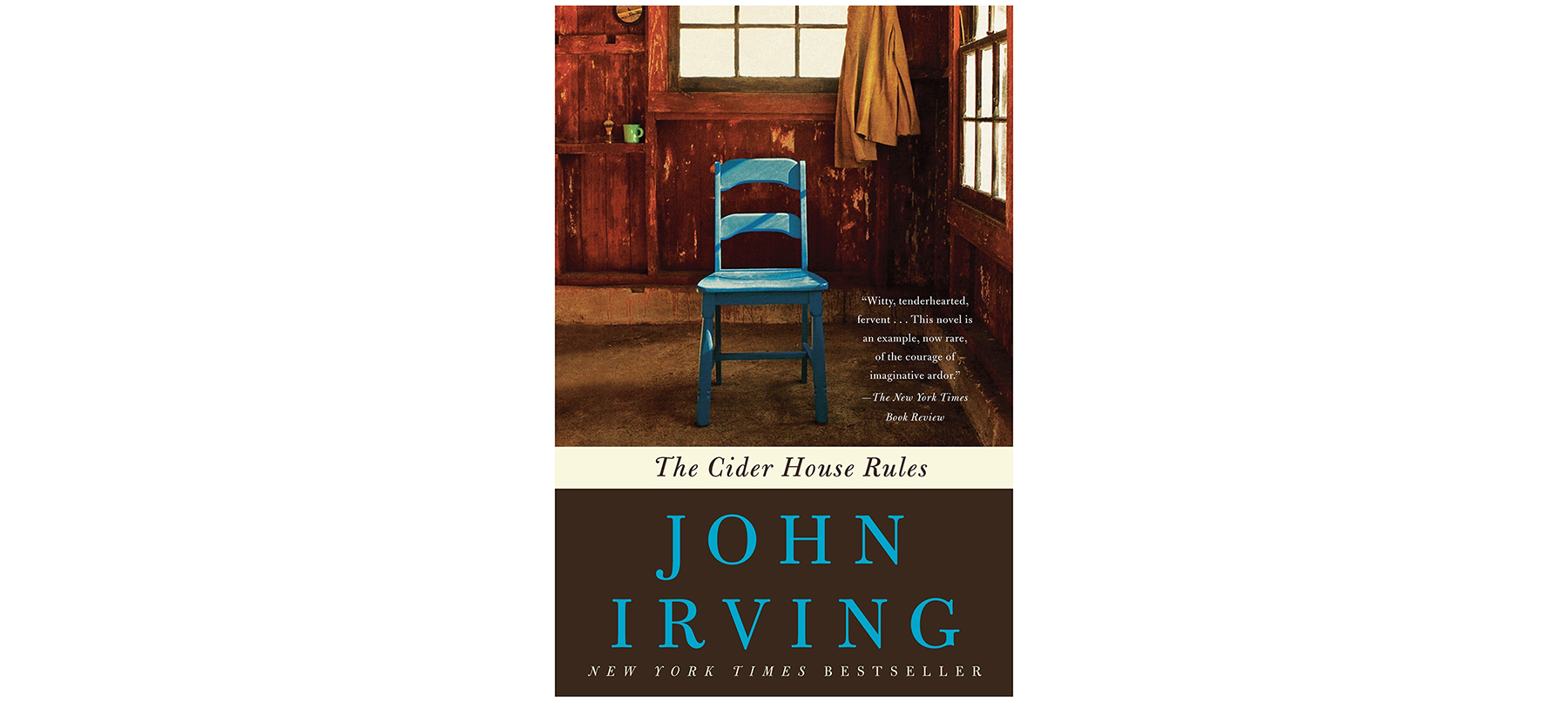 Cover of The Cider House Rules, by John Irving