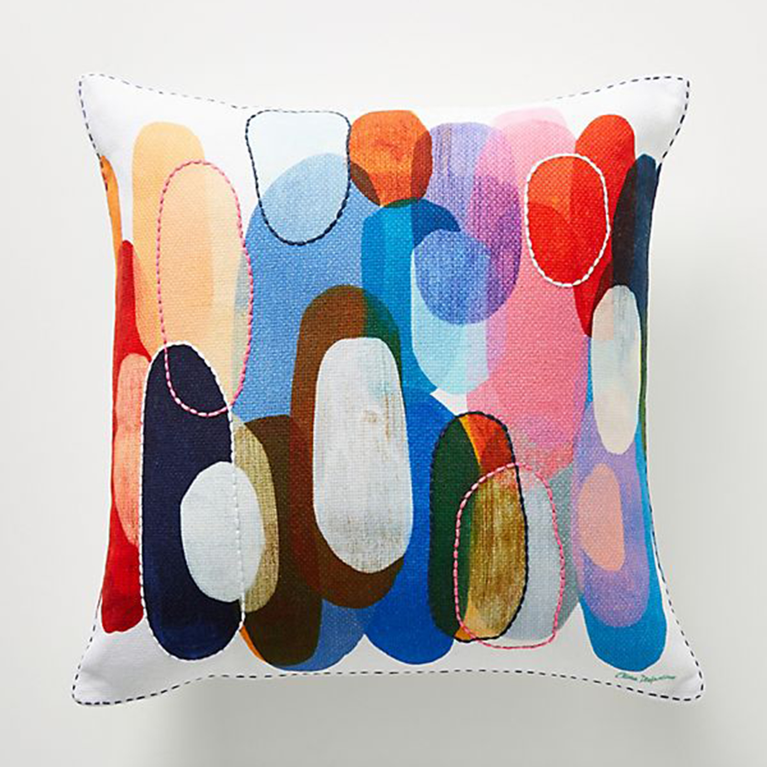 Anthropologie Claire Desjardins Kaleidoscope Pillow