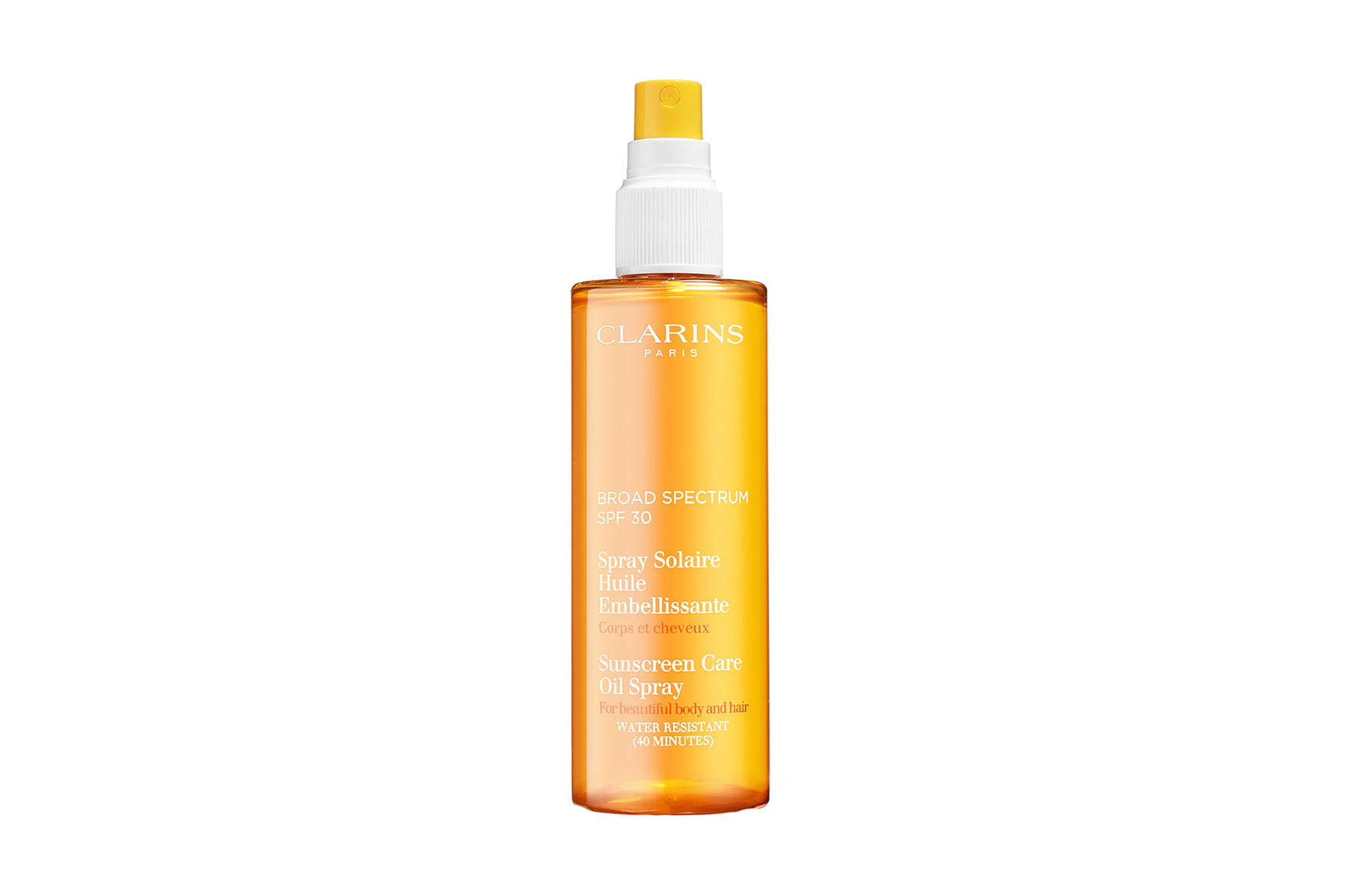 Clarins Sunscreen Care Oil Spray