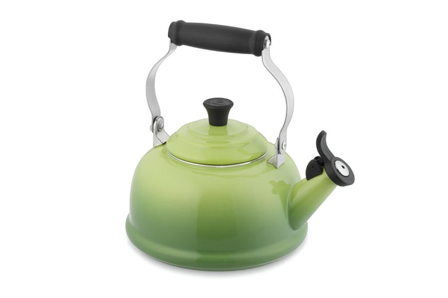 Tea Kettle in Lime Green