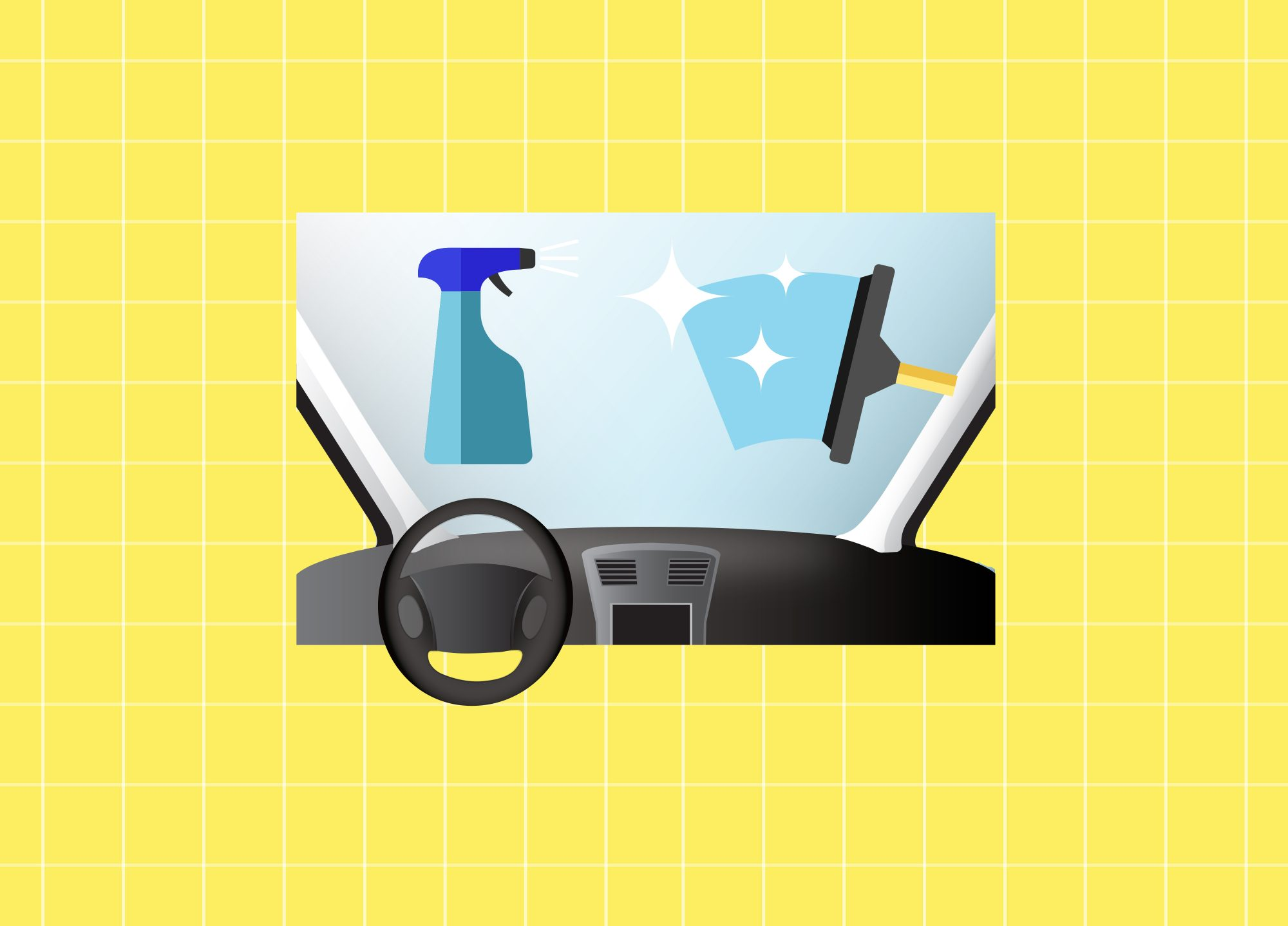 Car Interior Cleaning: How to Clean Car Windows