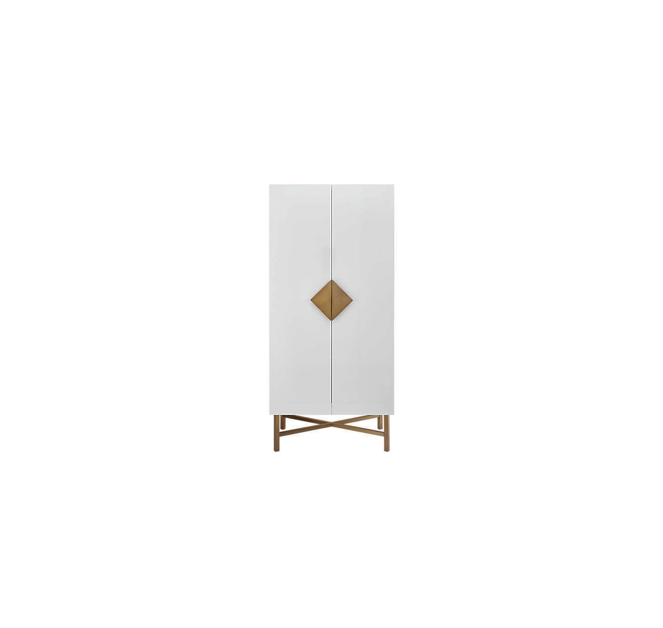Best for Luxe Bedrooms: CB2 Astoria Wardrobe