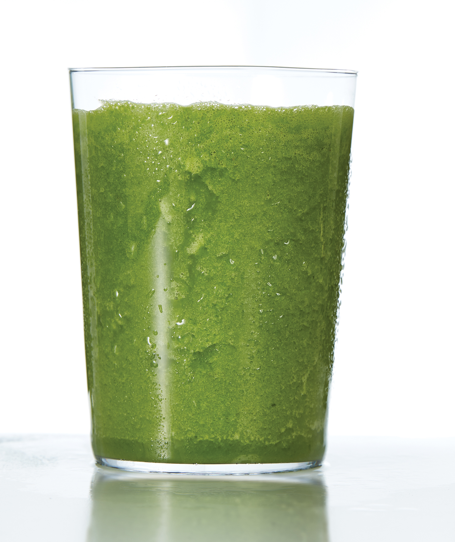 Coconut-Kale Smoothie With Ginger and Mint