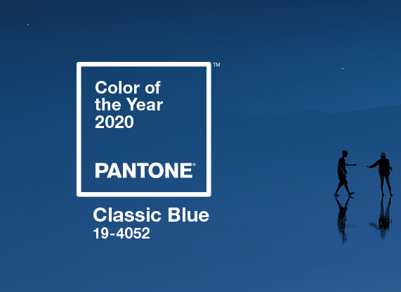 Color of the Year 2020 - Pantone Color of the Year 2020: Classic Blue
