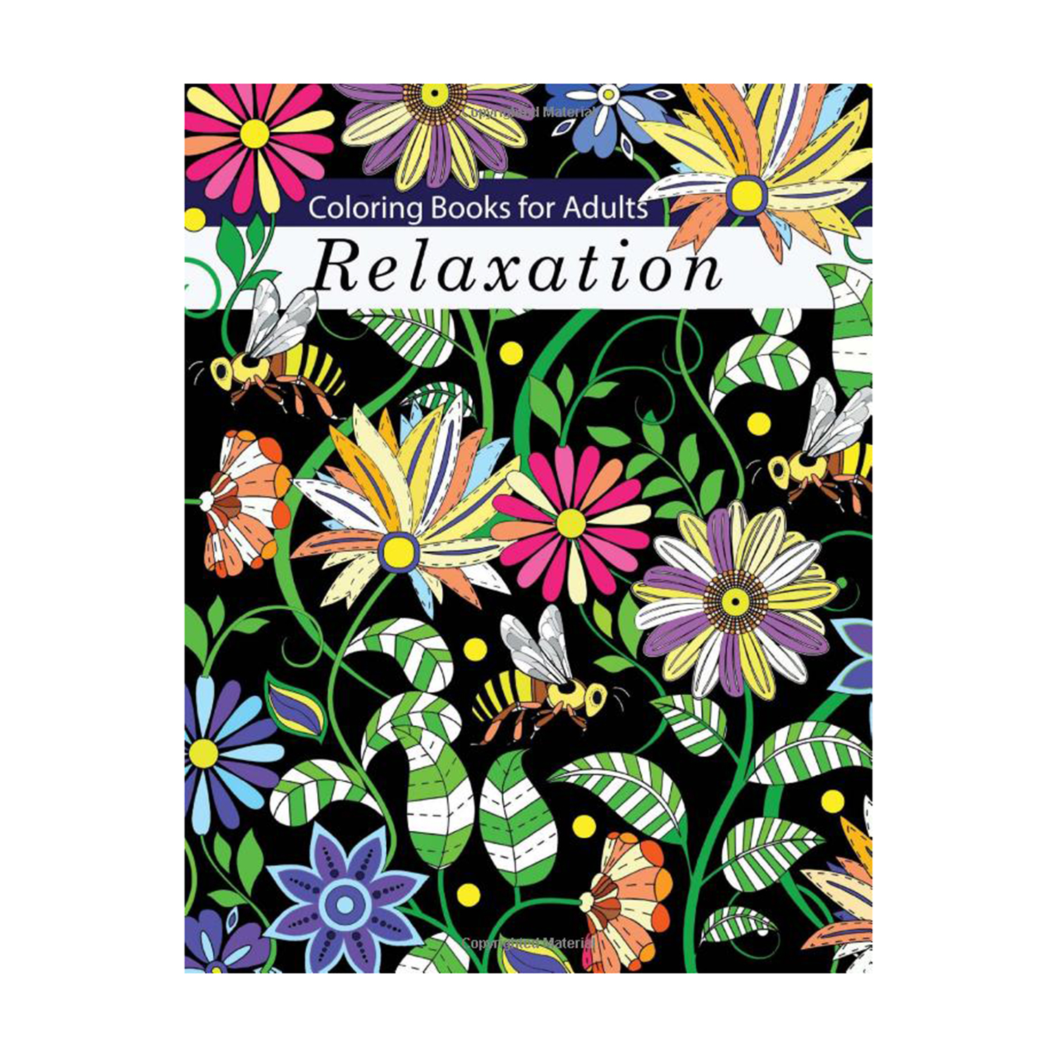 Coloring Books for Adults Relaxation: Adult Coloring Books