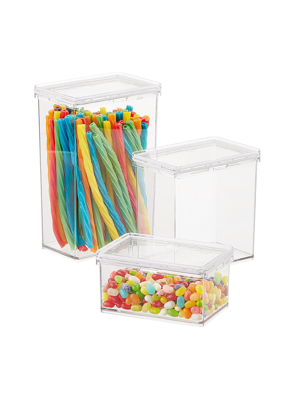 The Home Edit Container Store, Clear Food Storage Containers