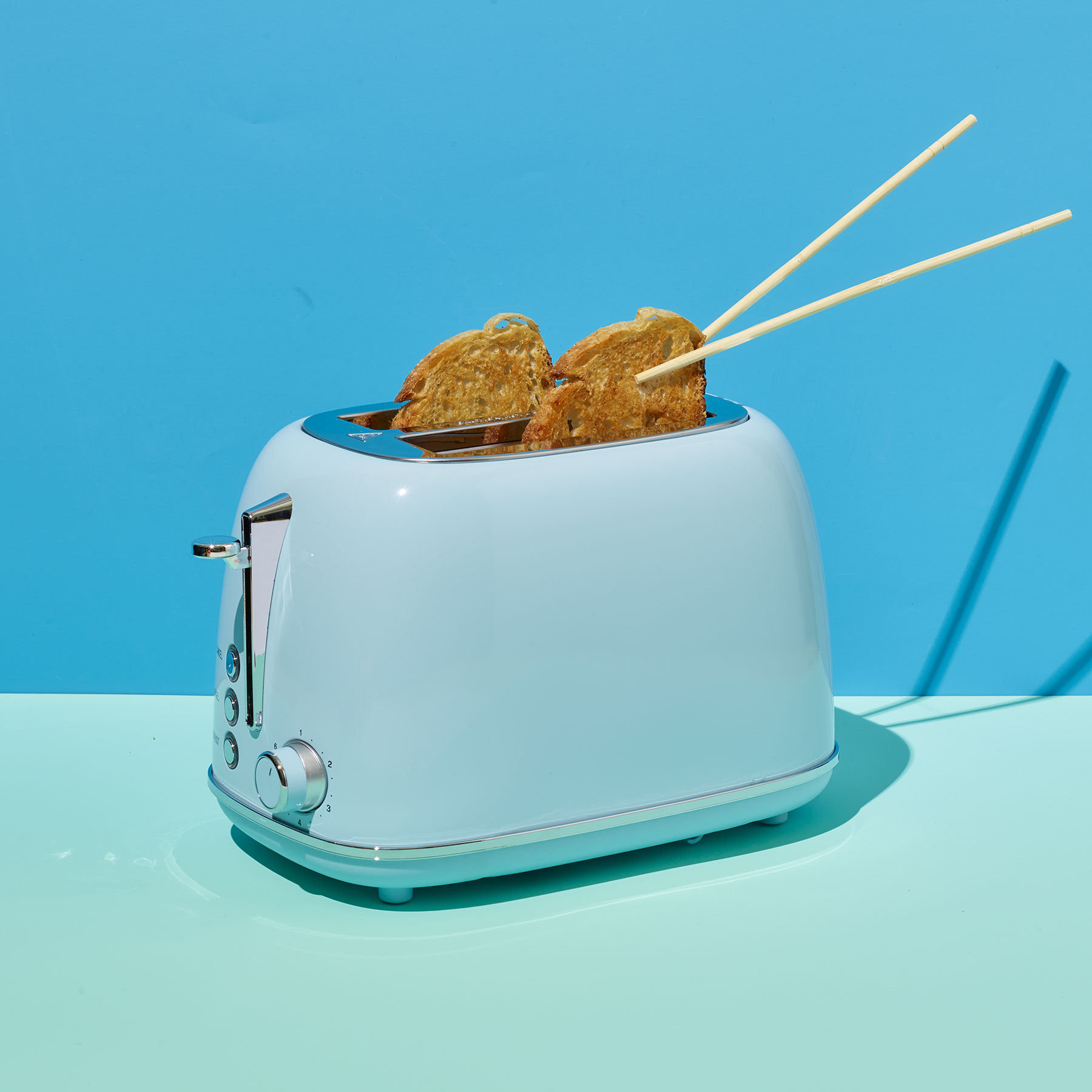 Cool Things to Do With Chopsticks: Toaster Tongs