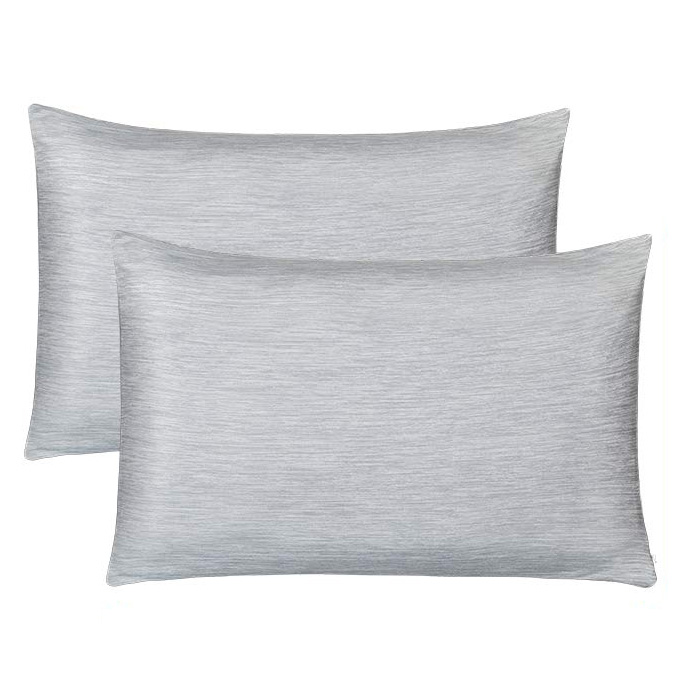 Cooling Warm Double-Side Design Pillow Cover with Japanese Q-Max 0.4 Cooling Fiber