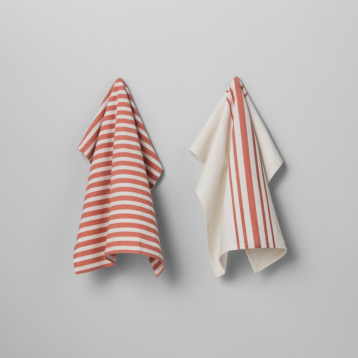 Coral Kitchen Towels