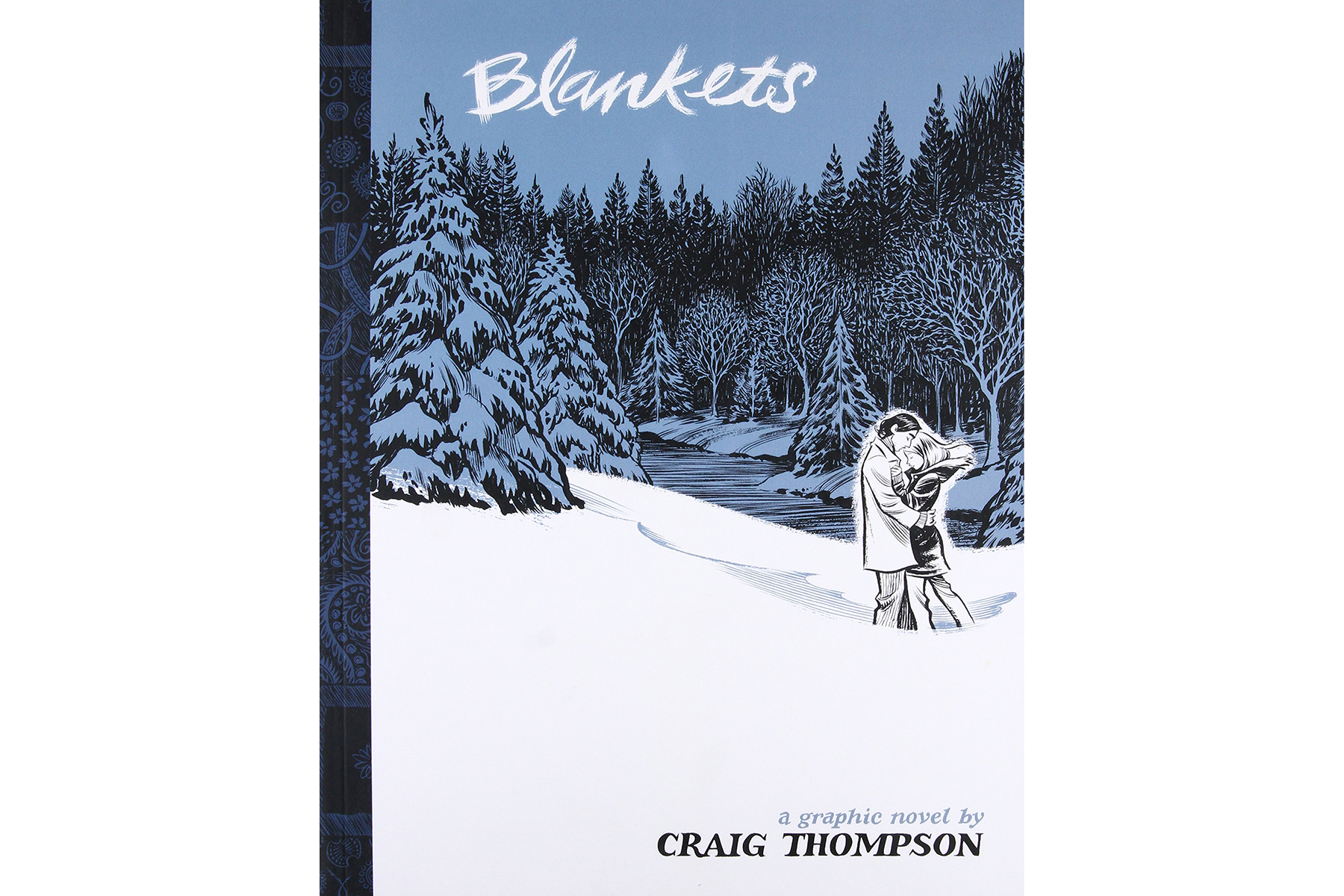 Blankets, by Craig Thompson Cover