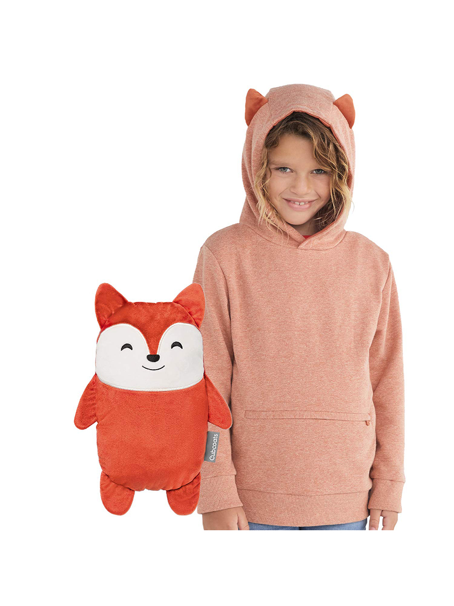 Cubcoats Flynn the Fox Two-in-One Hoodie and Plushie