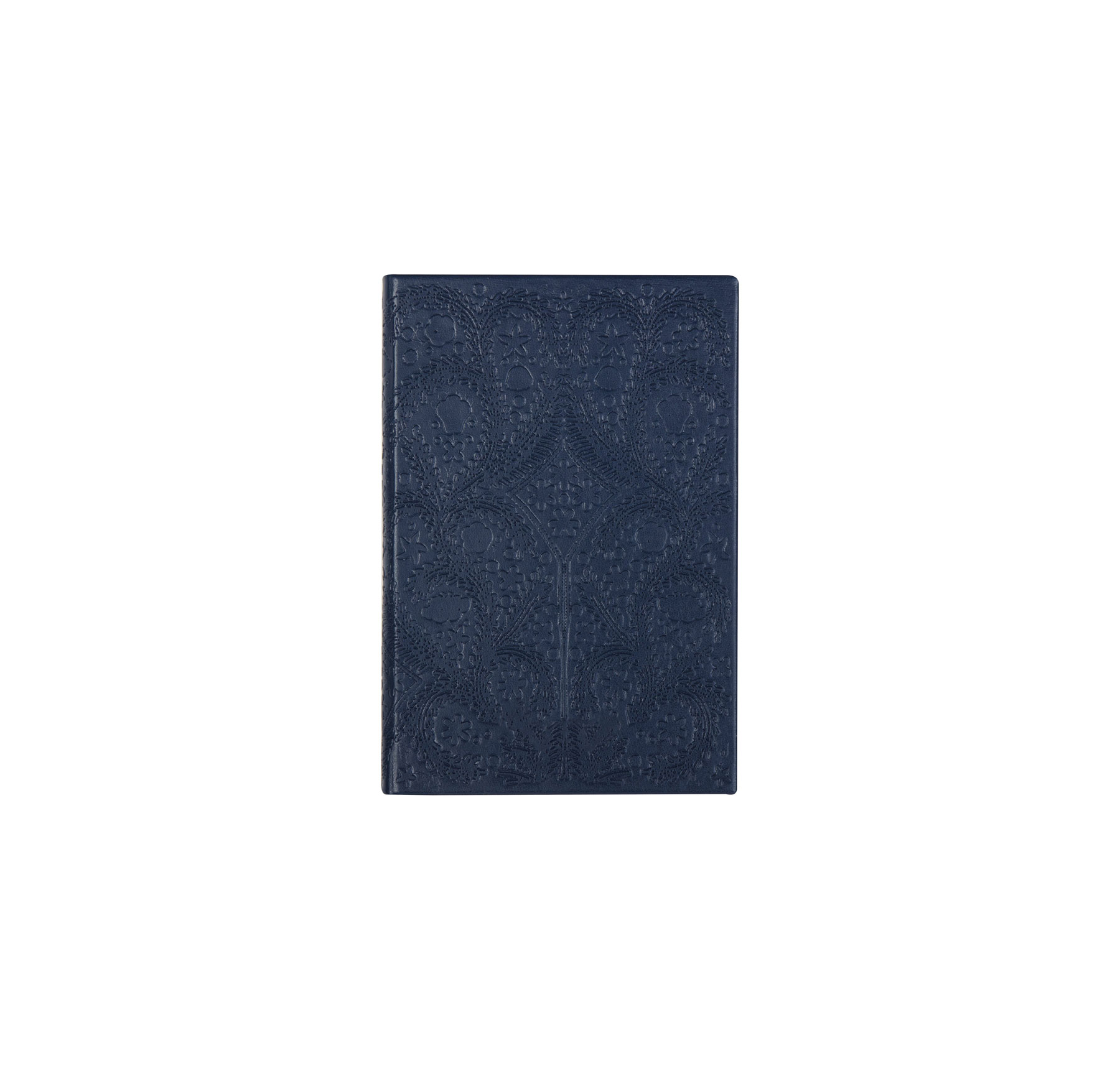 2019 Daily, Weekly, and Monthly Planners Christian Lacroix Navy Embossed Paso Undated Agenda