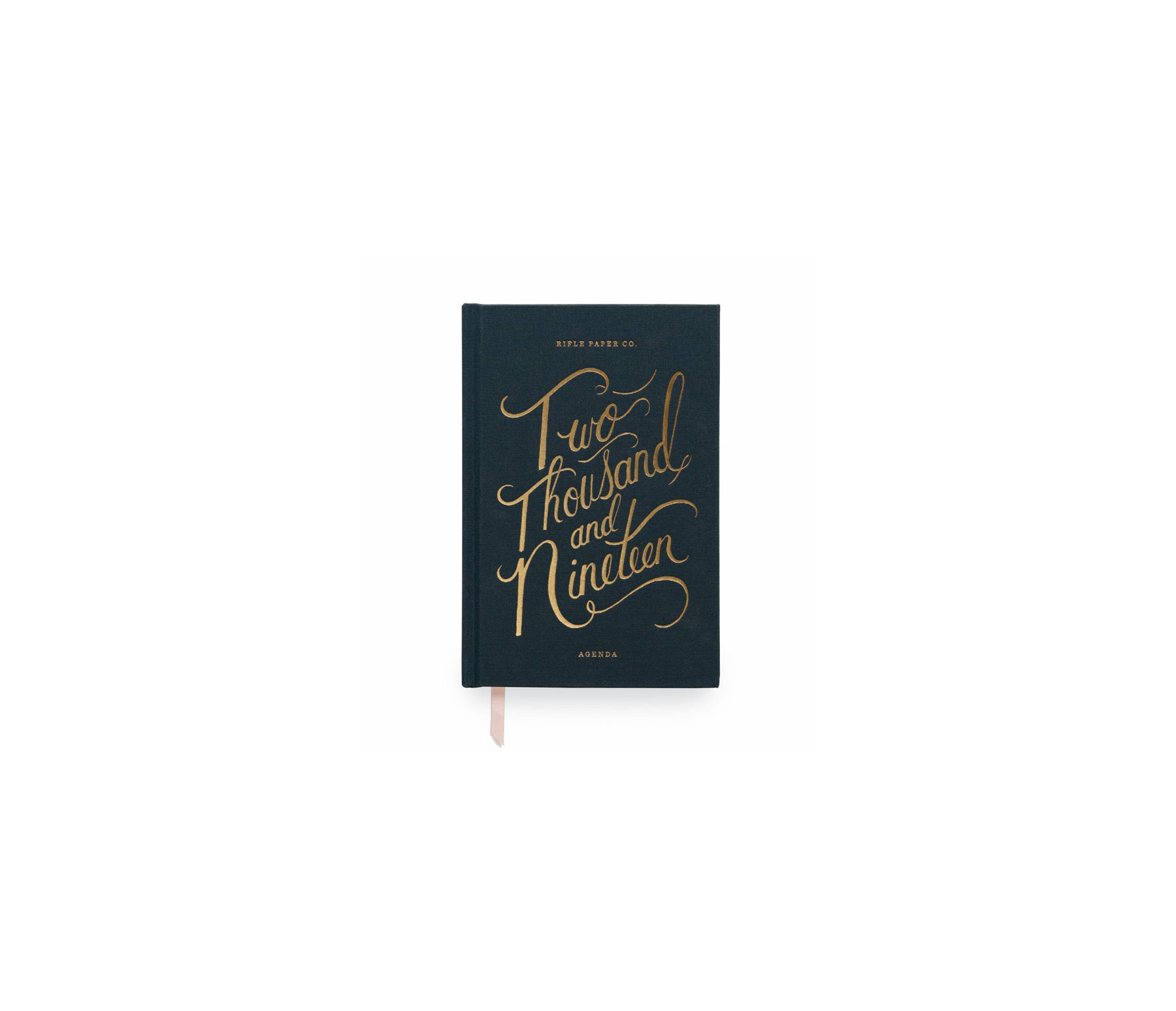 2019 Daily, Weekly, and Monthly Planners Rifle Paper Co. Everyday 12-Month Agenda in 2019 Navy