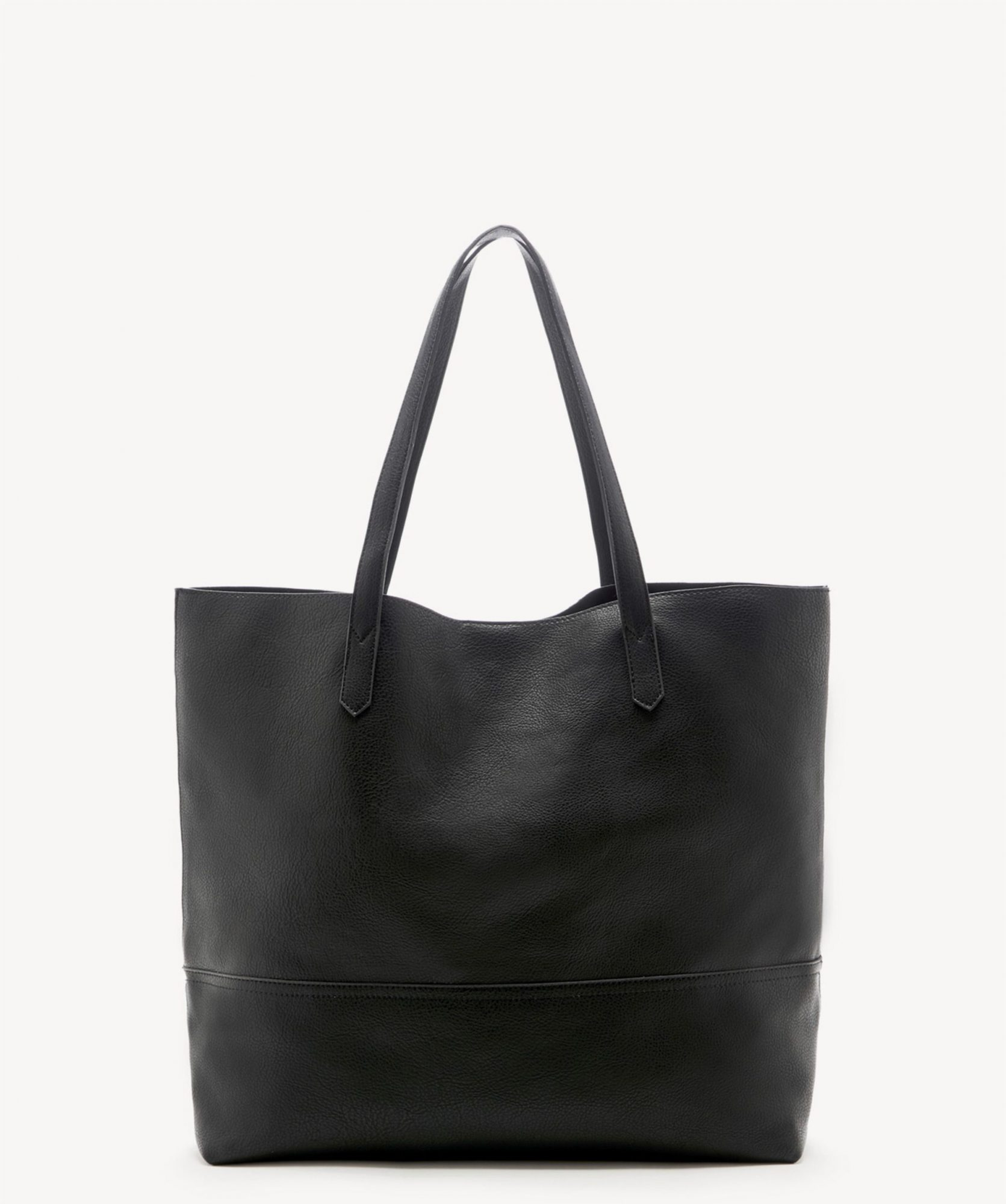 Sole Society black faux leather bag