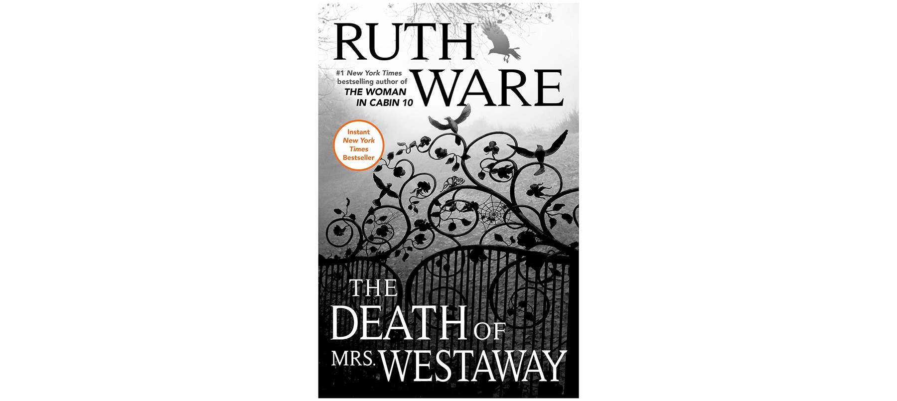 Cover of The Death of Mrs. Westaway, by Ruth Ware