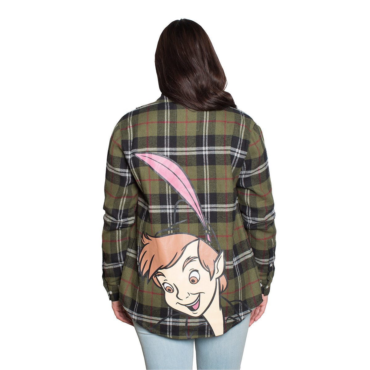 Disney Shop Friends and Family Sale on Peter Pan Flannel Shirt