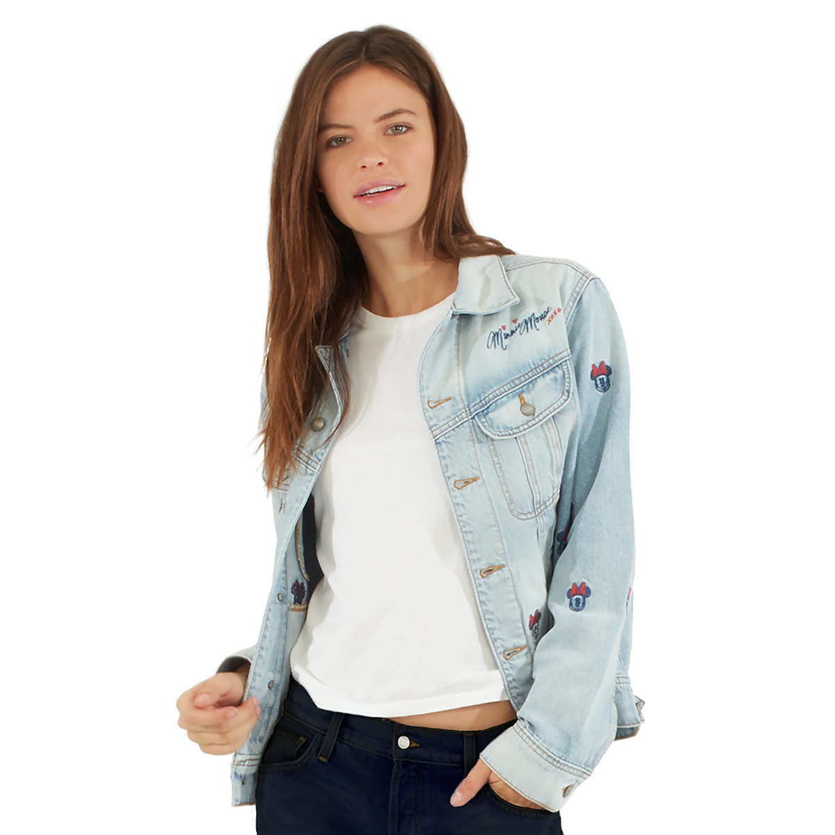 Minnie Mouse Denim Jacket at Disney Shop's Friends and Family Sale