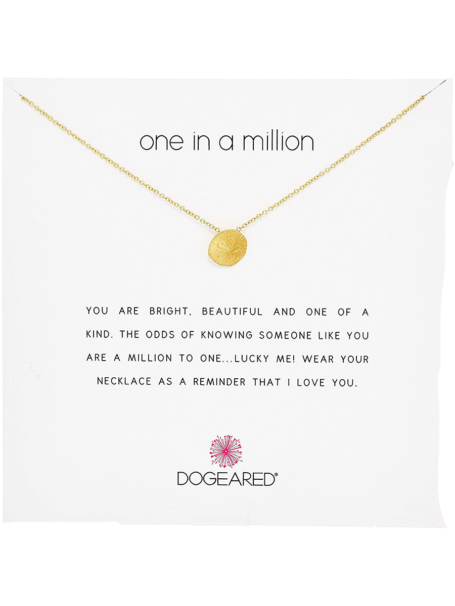 Dogeared Reminders Sand Dollar Necklace