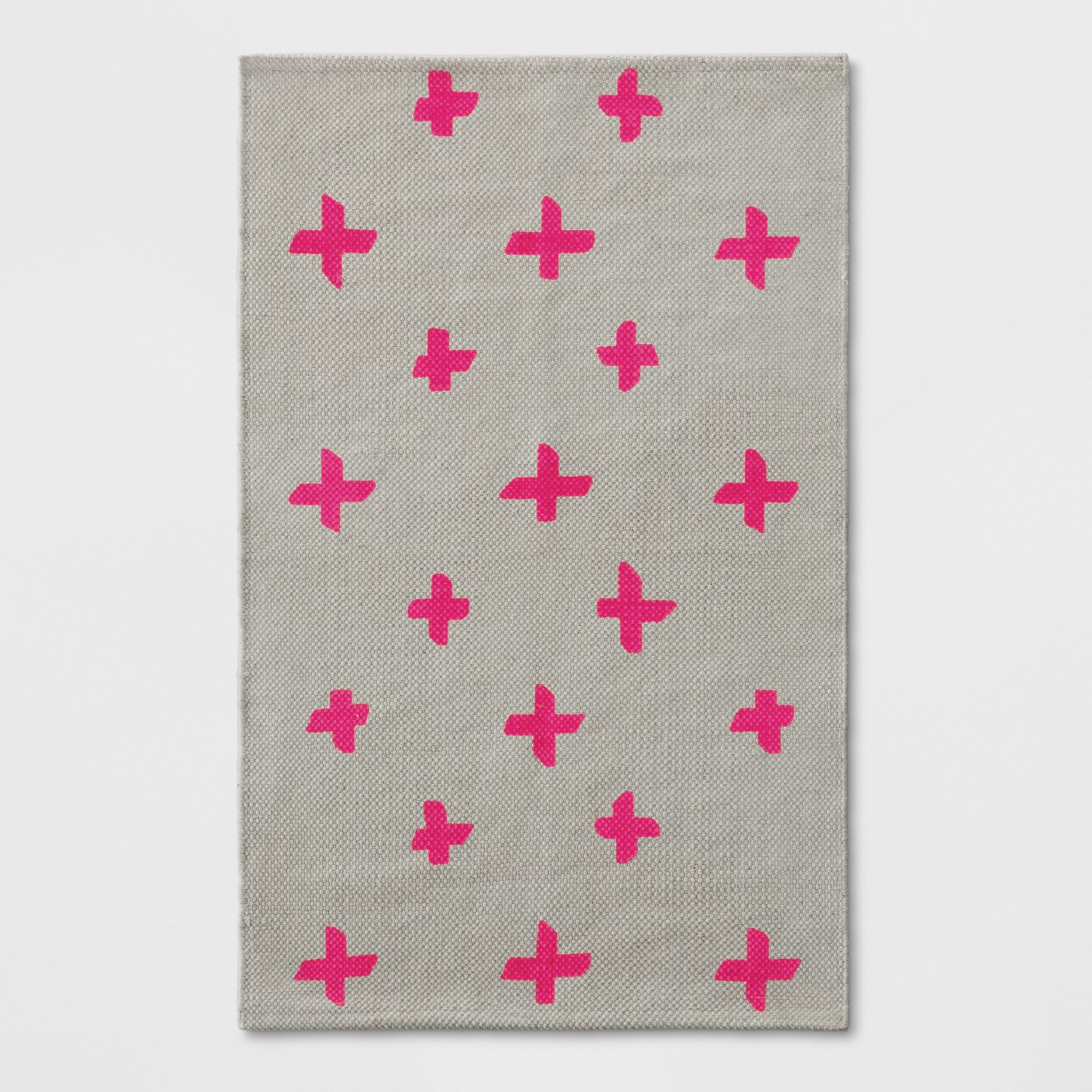 Dorm Room Decor Pink and Gray rug