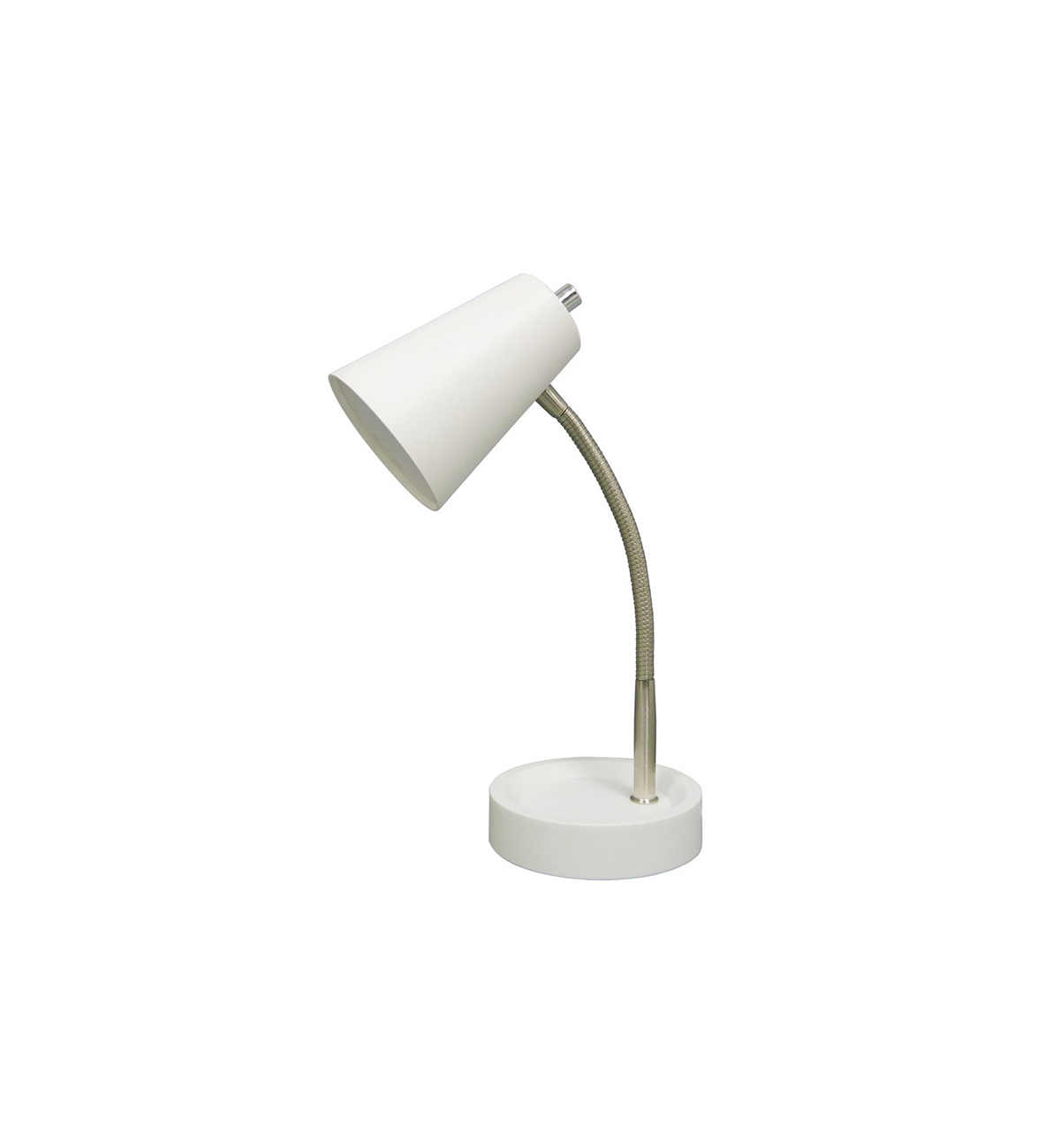 Dorm Room Decor Small White Desk Lamp