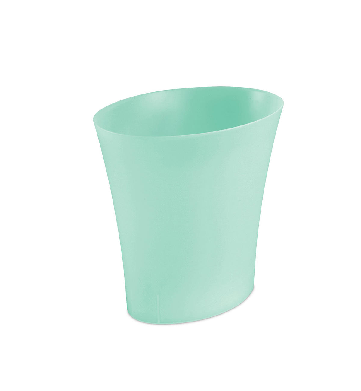 Dorm Room Decor, mint green waste basket