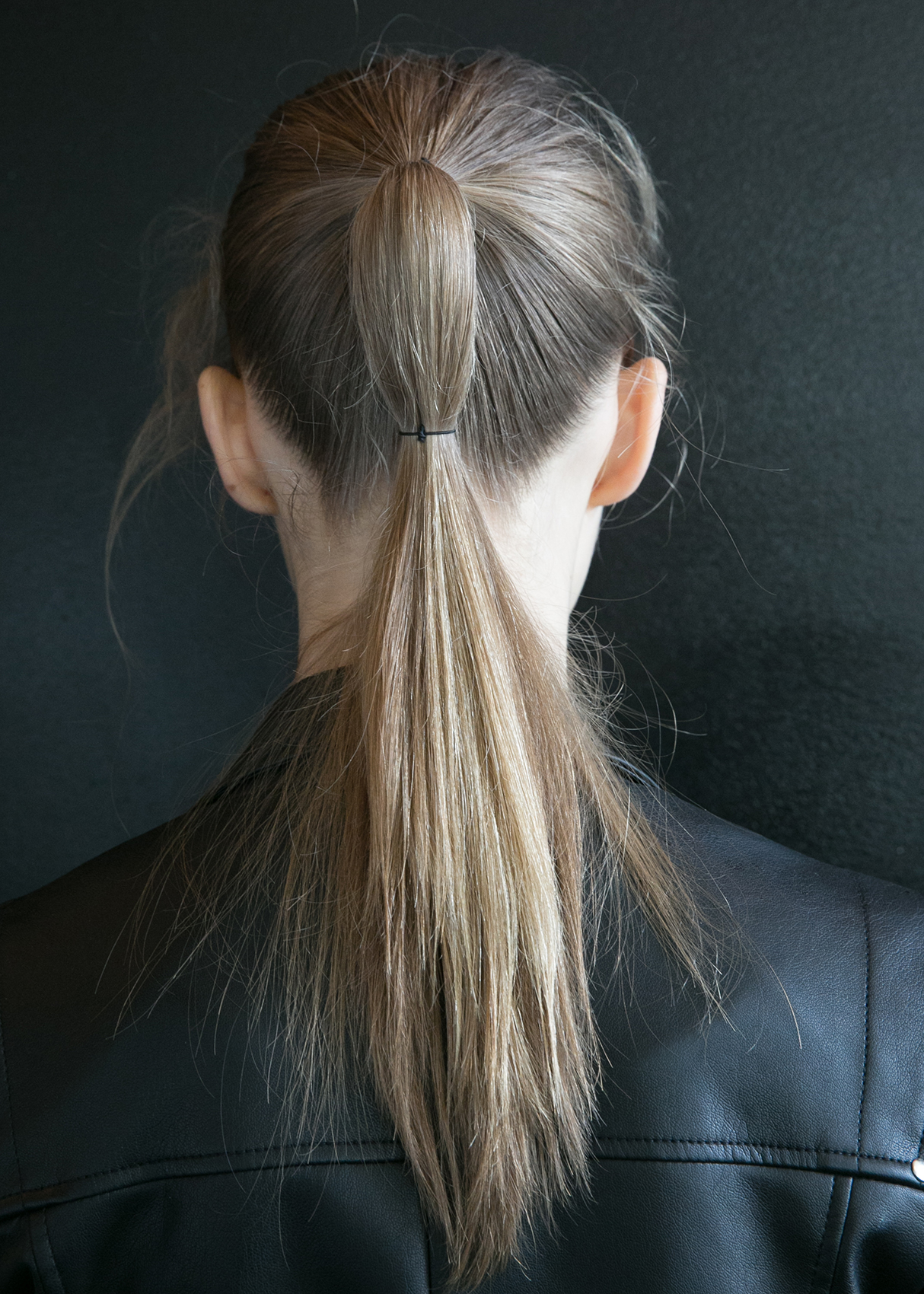 Double ponytail from Ryan Roche Fashion Week 2016