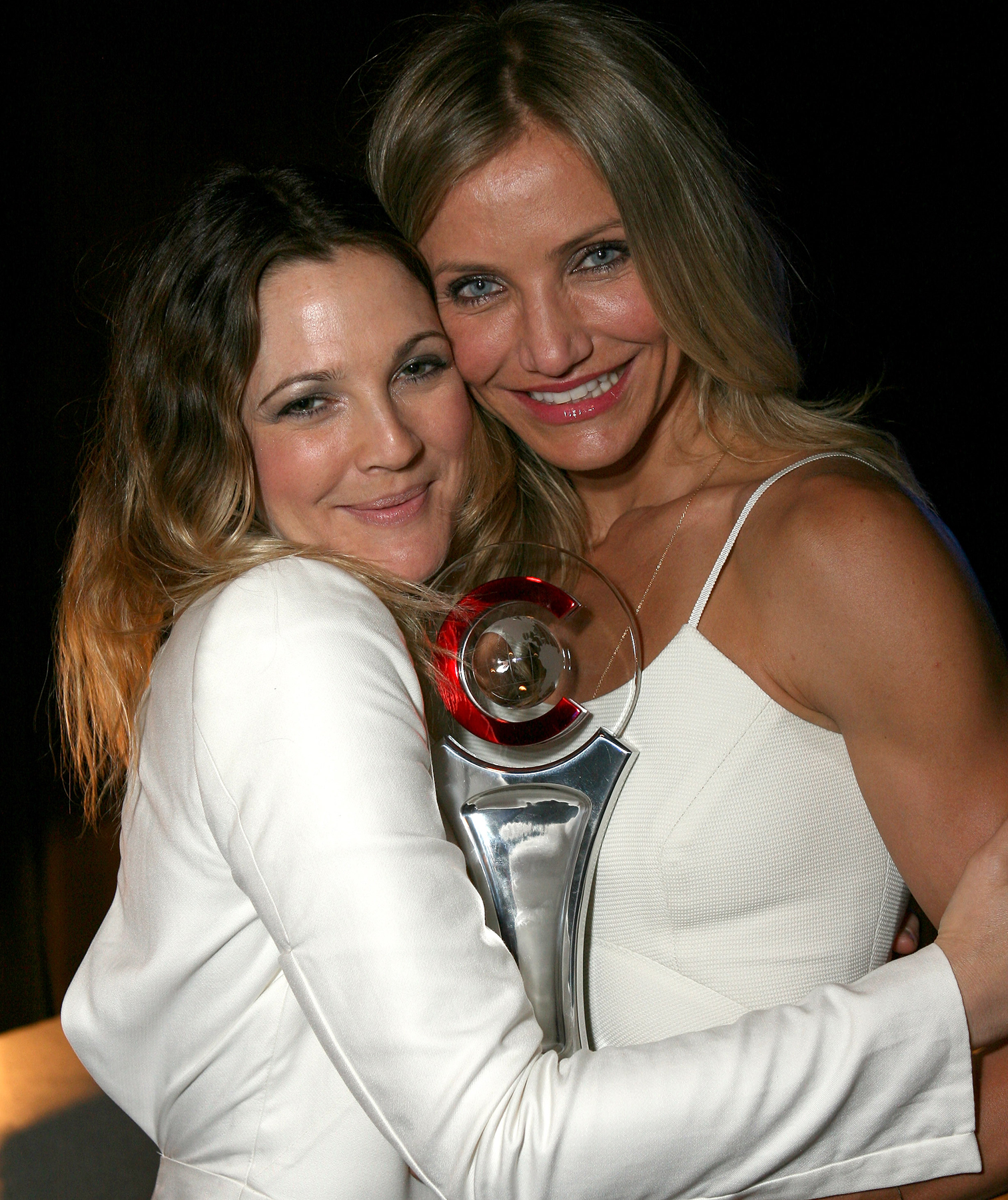 Drew Barrymore and Cameron Diaz