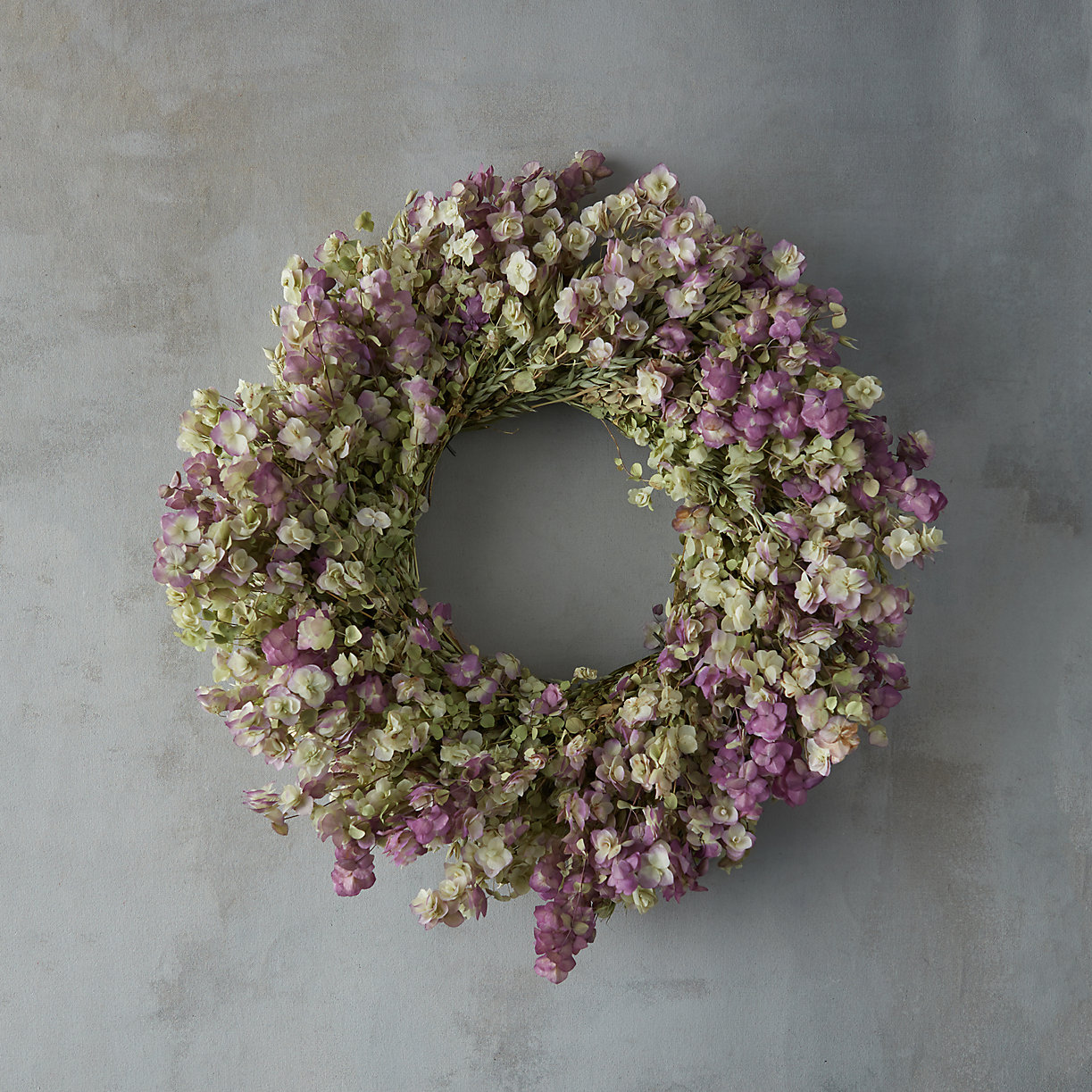 Dried Flowers, Oregano and Lavender Wreath