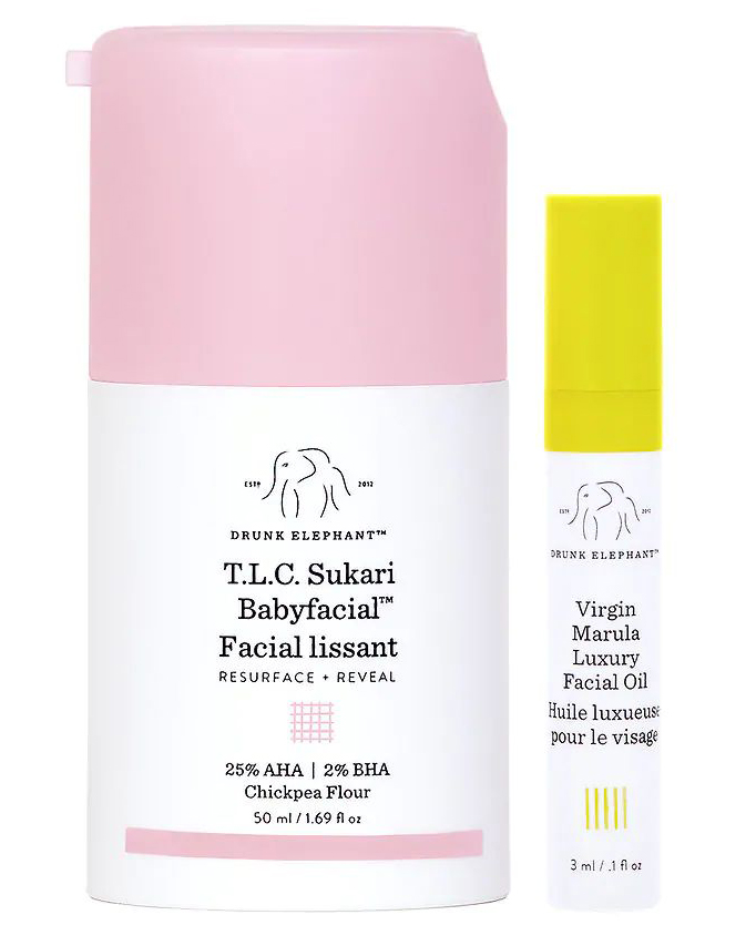 Best Face Masks and Peels: T.L.C. Sukari Babyfacial, a Glycolic Acid Chemical Peel