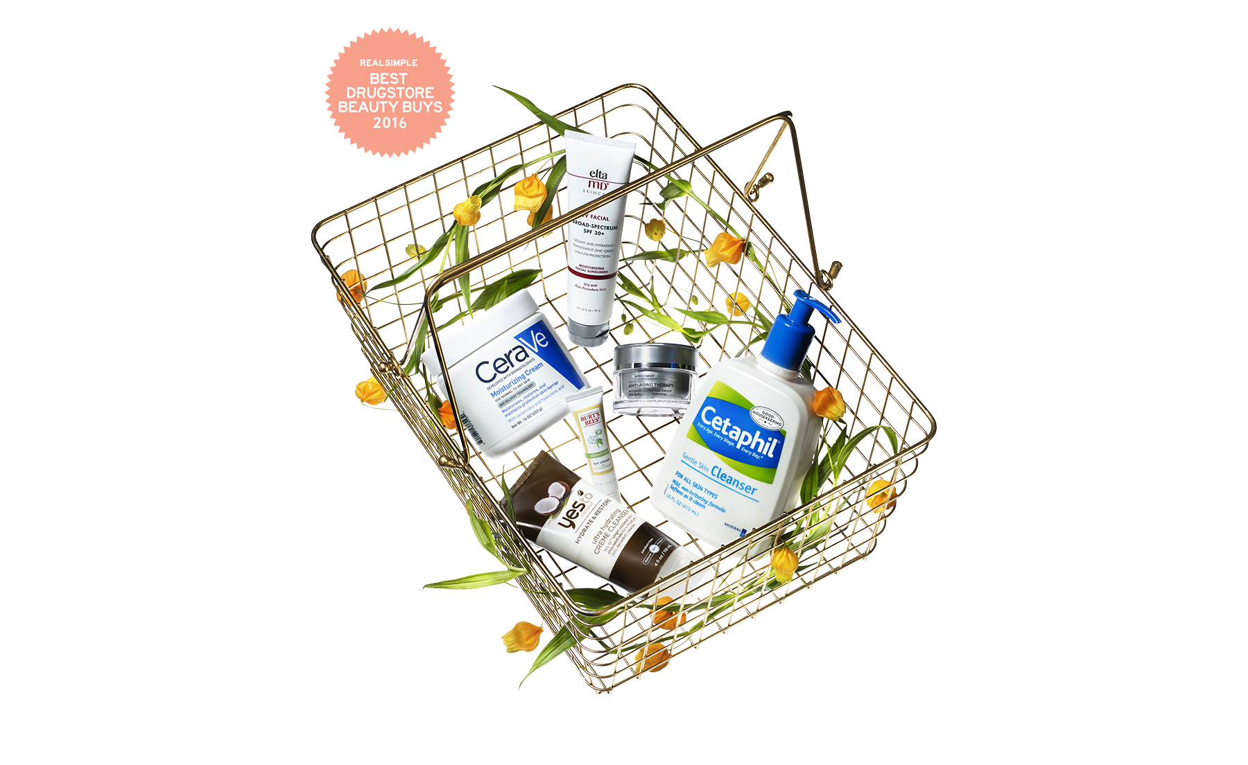 Drugstore products for dry or sensitive skin