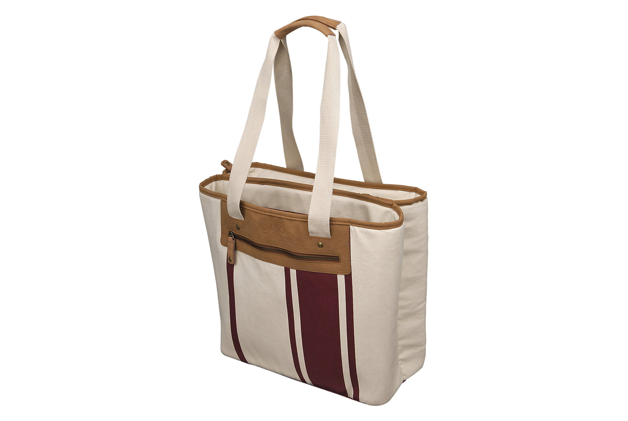 Duo Newport City Tote Red Stripe