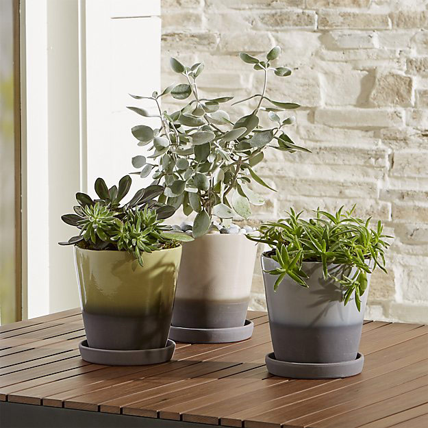 Dyp Two-Tone Planters