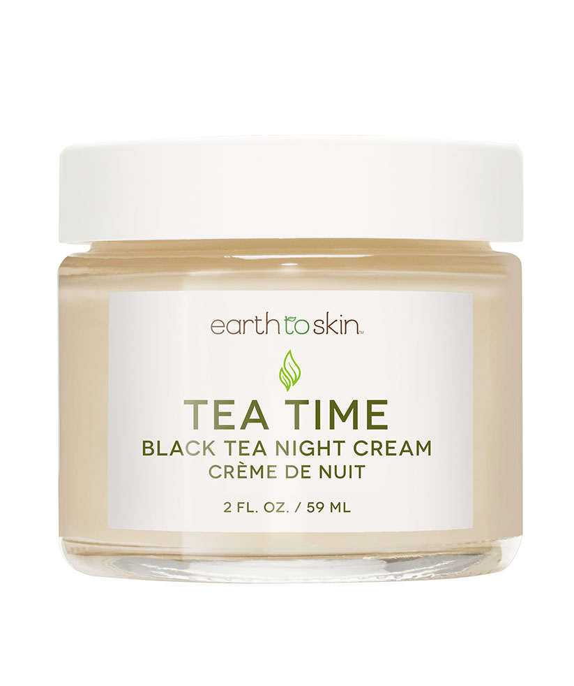 Earth to Skin Tea Time Anti Aging Night Cream