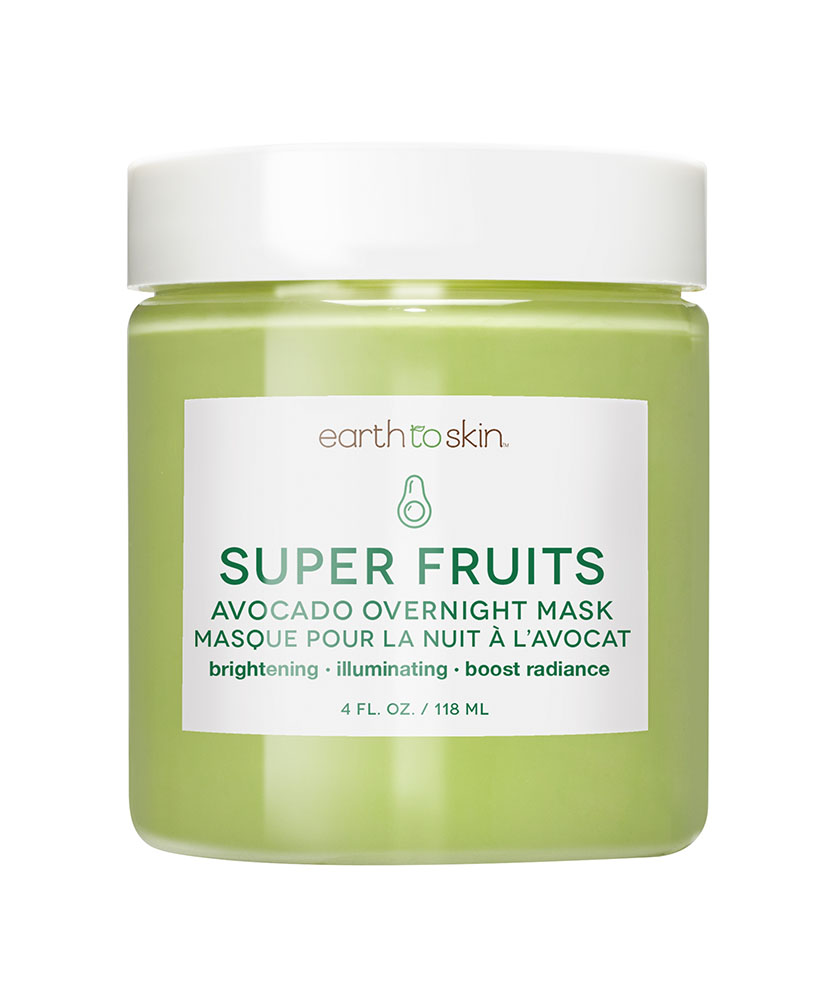 Earth to Skin Super Fruits Avocado Overnight Mask