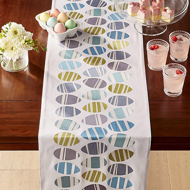 Easter Eggs Table Runner