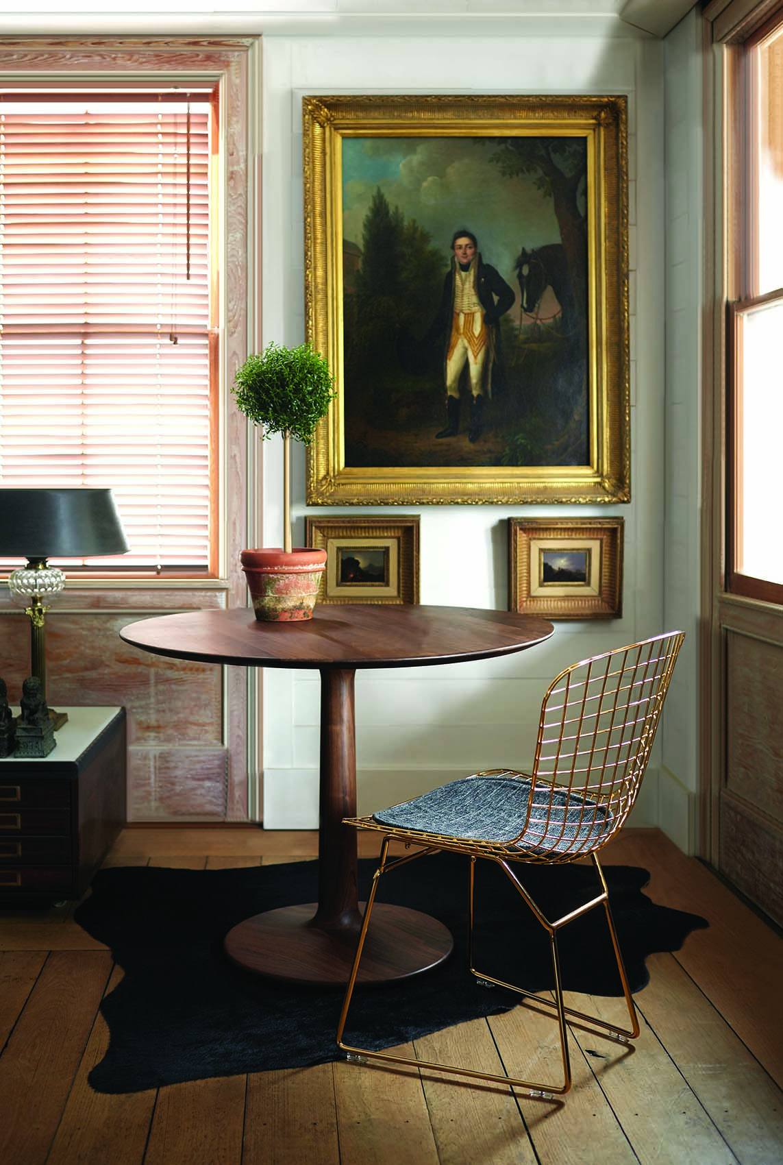 Eclectic dining nook