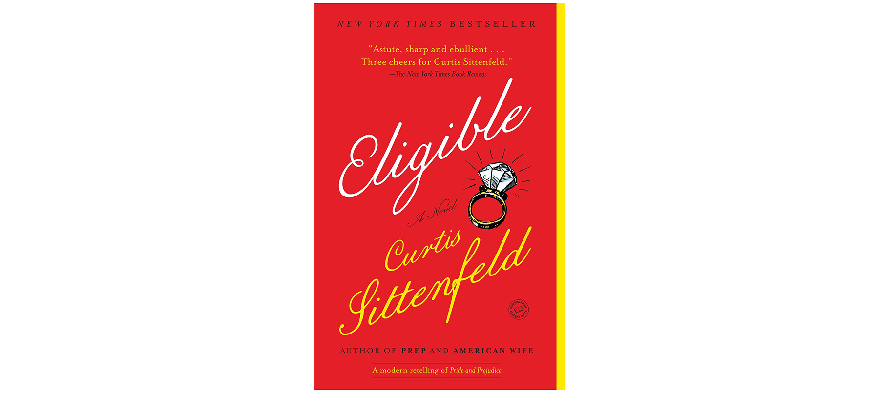 Cover of Eligible, by Curtis Sittenfeld