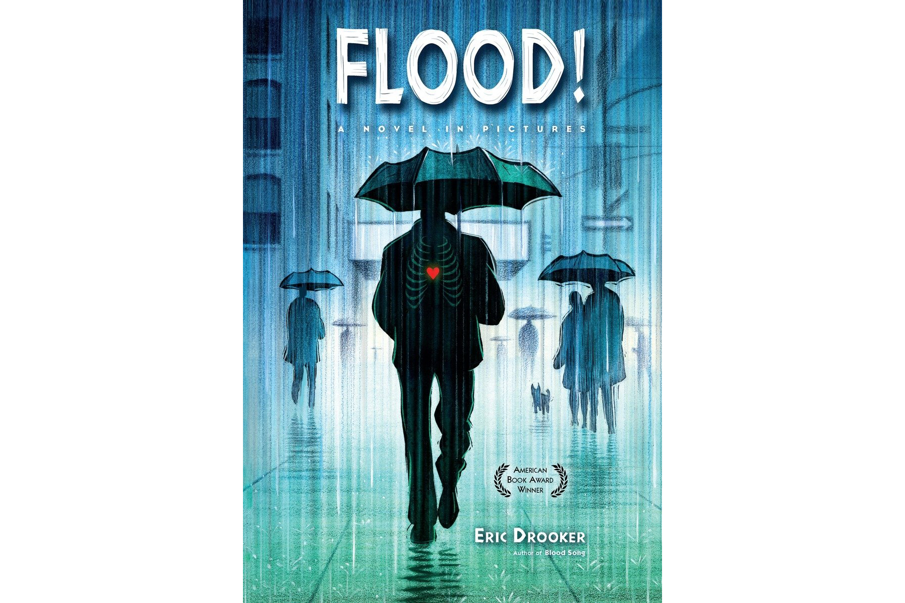 Flood, by Eric Drooker Cover