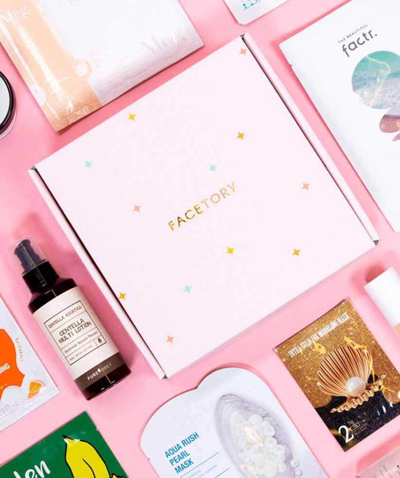 Best Beauty Subscription Boxes: Facetory