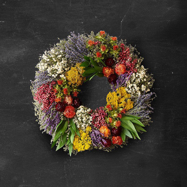 Farmer's Market Herb Wreath
