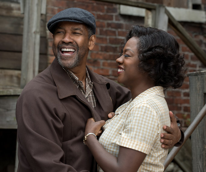 Fences Movie Still Denzel Washington and Viola Davis