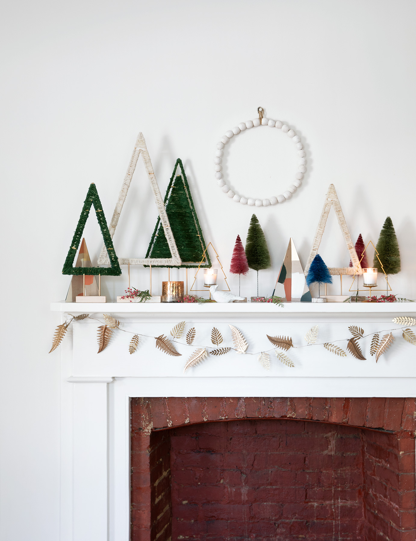 Christmas decoration ideas - Fireside Forest